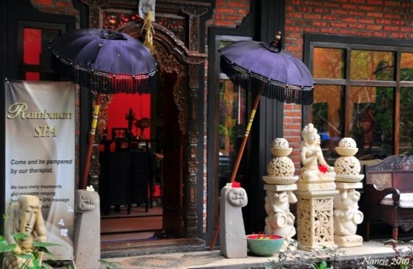 Rambutan Spa Entrance