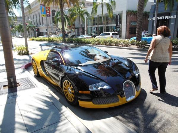Bugatti Veyron in Beverly Hills