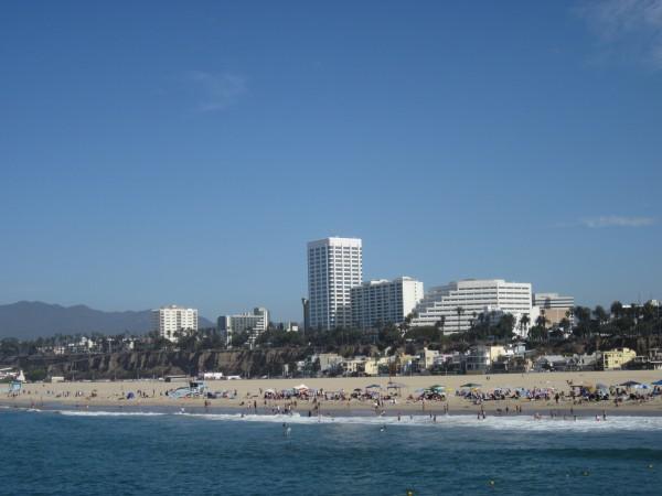 view on Santa Monica