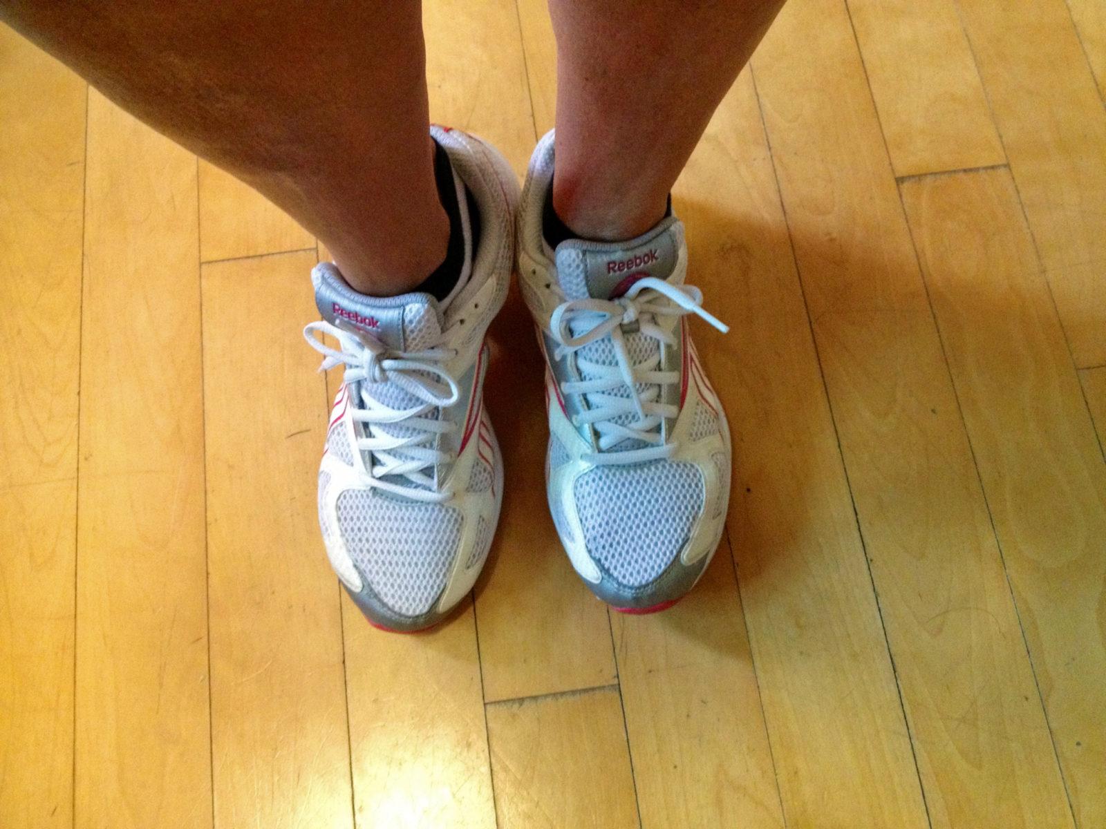 My traveling feet