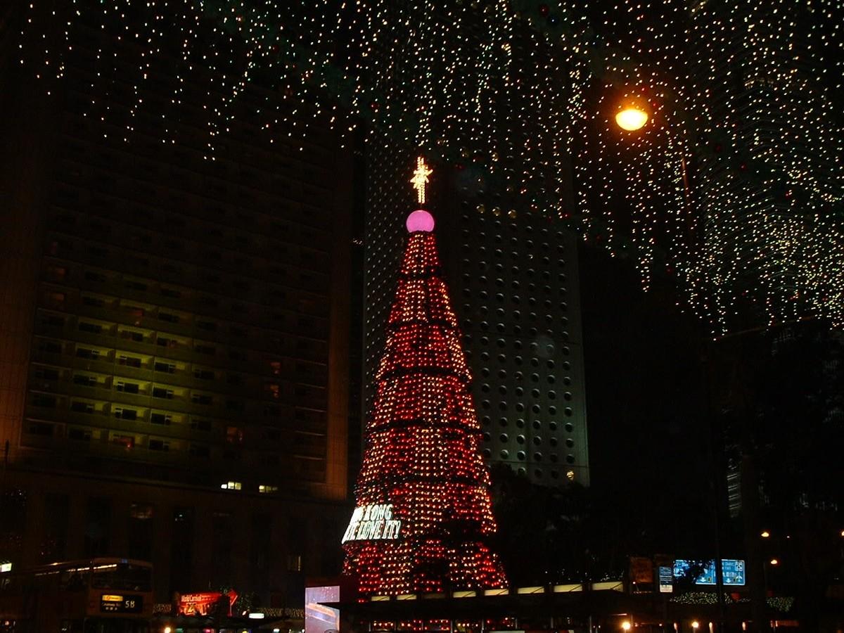 Christmas in Hong Kong!