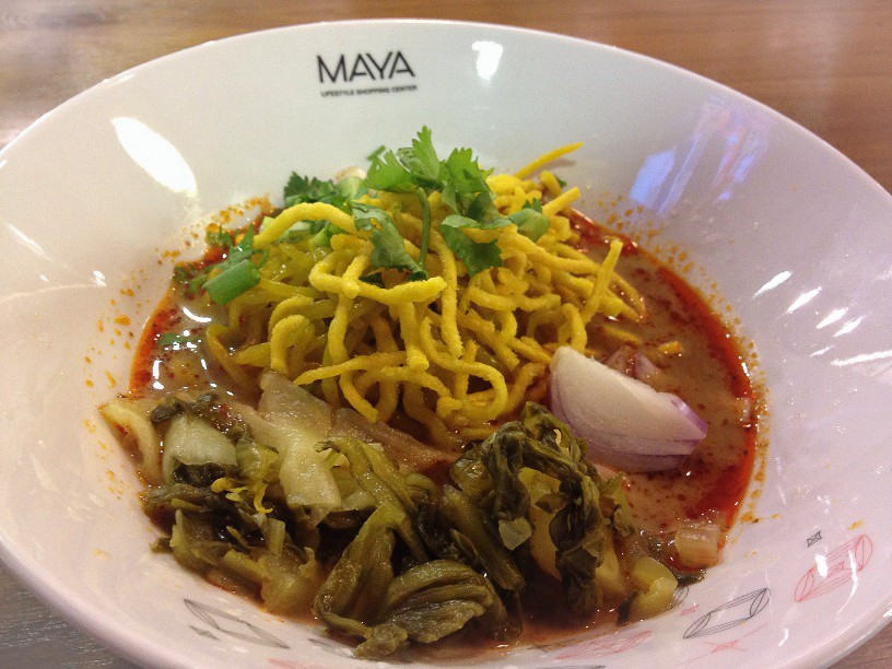 Yummy Khao Soi from the Maya Food Court