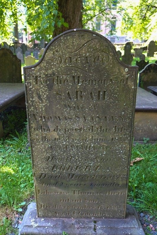 Old Burial Ground, 1800s