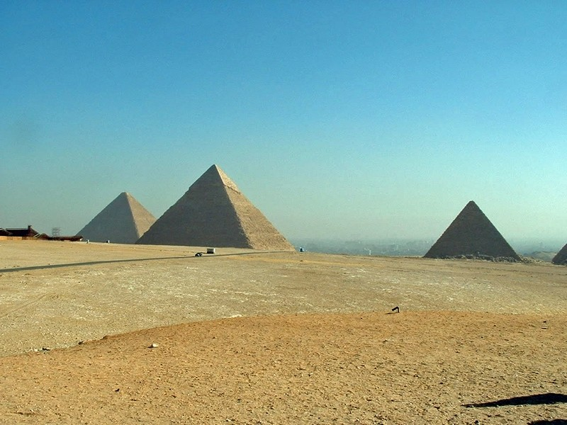 Egypt's Great Pyramids in Giza