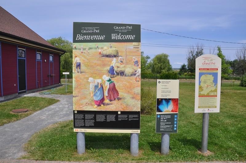 UNESCO Site : Grand Pre, Nova Scotia