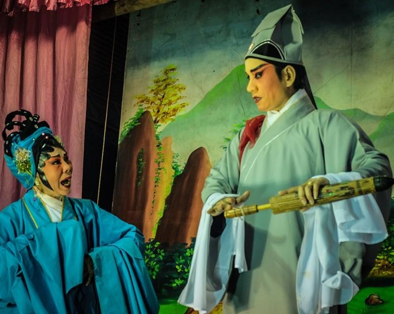 Chinese Opera performance, Act 2
