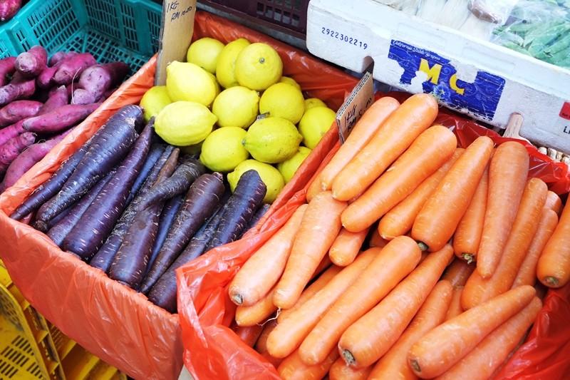 Fresh Vegetables, Pulau Tikus Market