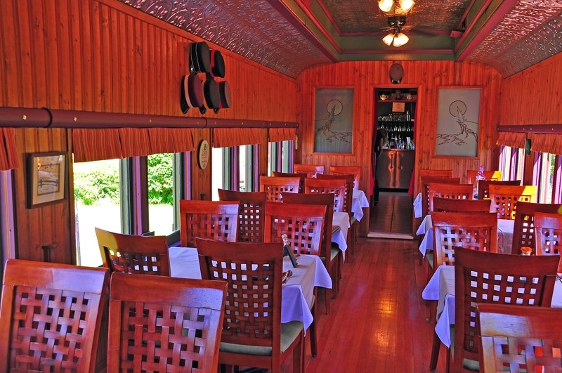 Dining Car at the Train Station Inn, Tatamagouche, Nova Scotia